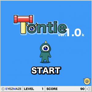 Tontieのゲーム画面の画像