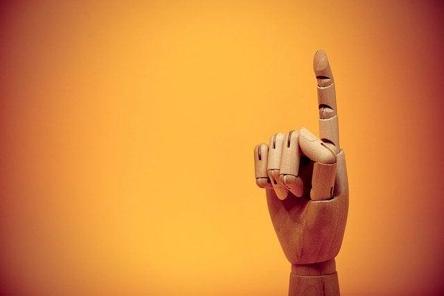 人差し指プレイの画像