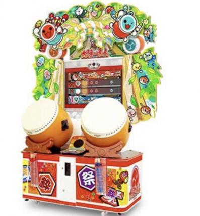 太鼓の達人の筐体画像