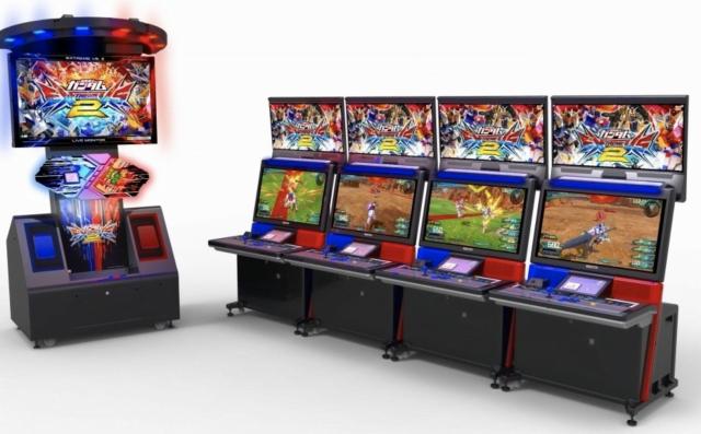 ガンダムEXVS2の筐体画像